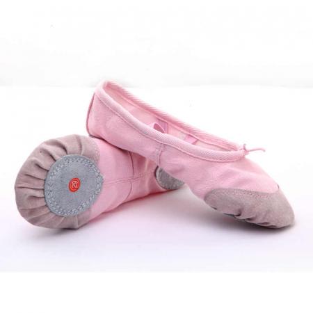 Балетки для хореографии розовые