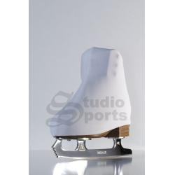 Чехлы на ботинки термо белые